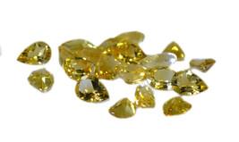 tempting Citrine Faceted Pear 5X7 mm Loose Gemstones - $2.23