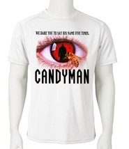 Candyman Dri Fit graphic Tshirt retro 80s horror movie SPF sun shirt active tee image 2