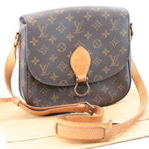 LOUIS VUITTON Monogram Saint Cloud GM Shoulder Bag M51242 LV Auth sa1852 - $498.00
