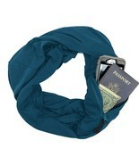 Aublary Infinity Scarf with Secret Hidden Zipper Pocket Travel Scarf Wom... - $42.83 CAD