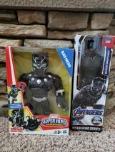 Marvel Mega Mighties Black Panther and Titan Hero Series Black Panther s... - $41.57