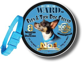 Flea Tick Collar For Pets Dogs Cats, One Size Fits All Vet Recommended 8... - €13,71 EUR