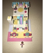 Vintage 1993 Polly Pocket 'Light-Up' Pizzeria/Pizza Place - Pollyville w/ 1 Doll - $23.99