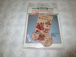 Bucilla COUNTRY CHRISTMAS Counted Cross Stitch STOCKING KIT #82737 - Sealed - $18.81