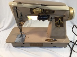 Vintage Singer 500A Rocketeer Sewing Machine With Manual and Accessories... - $274.99