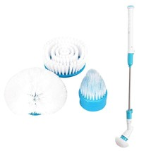 Electric Long Handle Cleaning Brush Wireless Bathroom Scrubber Charging ... - $54.43