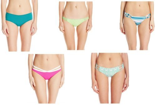 O'Neill Women's Swim Bikini Brief Bottom Medium Coverage