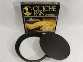 Vintage Bakers Advantage~ Quiche/ Pie Pan Pro Quality Roshco Bakeware US... - ₨2,176.77 INR