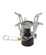 Backpacking Canister Camp Stove Burner Portable Outdoor BBQ Mini Piezo I... - £17.08 GBP