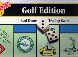 Monopoly   Game - Golf Edition - Board Game - $11.95