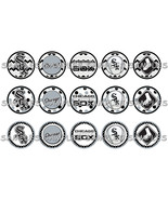 "MLB Chicago White Sox 1"" Bottle Cap Image Sheet... - $2.00"