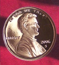 2006-S Ultra Cameo Proof Lincoln Memorial Penny #0836 - $3.19
