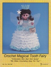 Magical Tooth Fairy, Td Creations Crochet Mini Bed Doll Clothes Pattern ... - $4.95