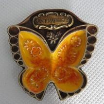 Vintage California Pottery Treasure Craft Butterfly Dish Ash Tray San Fr... - $24.70