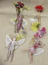 Bradford Editions Flower Fairies Ornaments Set ... - $14.85