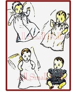 "Vintage DuBarry Pattern for 13 "" Vintage Baby Dolls - $7.99"