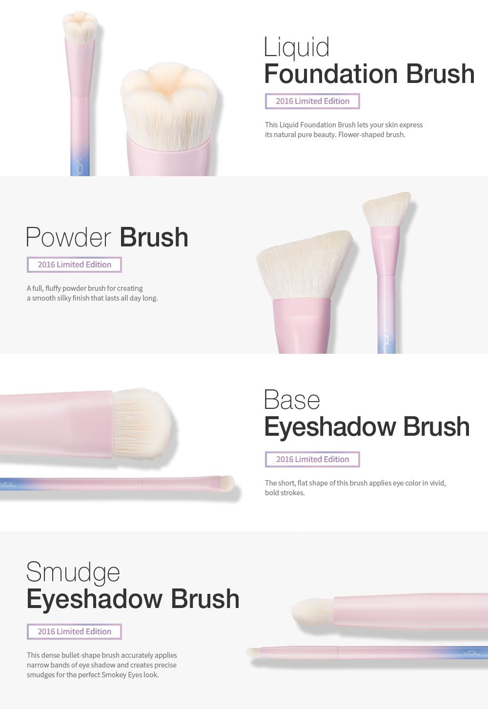 [VDL] 2016 VDL + Pantone Base Eyeshadow Brush - Korean Cosmetics Makeup Brush
