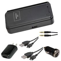 Samsung Note 4 N910R4 2X USB + Aux Cable + External + Car Charger + AC P... - €17,01 EUR