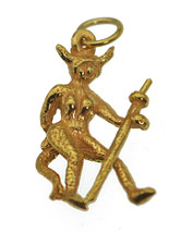 She devil temptress manipulating control over men 24K Gold Plated Charm Jewelry - $18.81