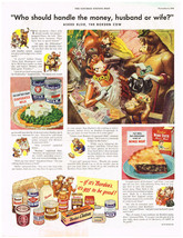 Vintage 1948 Magazine Ad Borden's Products From Evaporated Milk To Mince... - $5.93