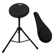 Paititi 8 inch Practice Drum Pad with Adjustable Stand & Carrying Bag (N... - $39.59