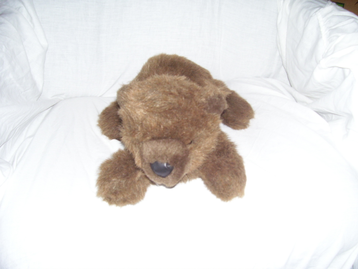"Dakin By Applause GRIZWALD GRIZZLIE Brown Bear Plush 15"" Long"
