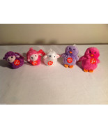 5pc set of small Aurora stuffed animals, 3 sheep, 2 penguins - $44.54