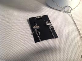 3 pc lot - necklace, earrings, bracelet, black pearls CZs Allure image 4