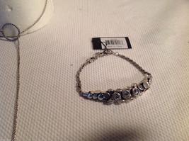 3 pc lot - necklace, earrings, bracelet, black pearls CZs Allure image 5