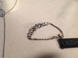 3 pc lot - necklace, earrings, bracelet, black pearls CZs Allure image 6