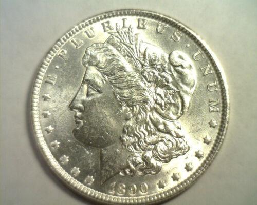 1890 MORGAN SILVER DOLLAR CHOICE UNCIRCULATED CH. UNC. NICE ORIGINAL COIN