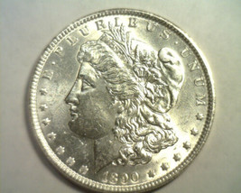 1890 MORGAN SILVER DOLLAR CHOICE UNCIRCULATED CH. UNC. NICE ORIGINAL COIN - $92.00
