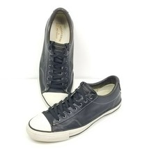 Converse X by John Varvatos Star Player Oxford Low Sneaker BLACK Leather... - $69.88