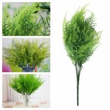 Liplasting Beauty Geen 7 Stems Artificial Asparagus Fern Grass Bushes Fl... - £4.75 GBP