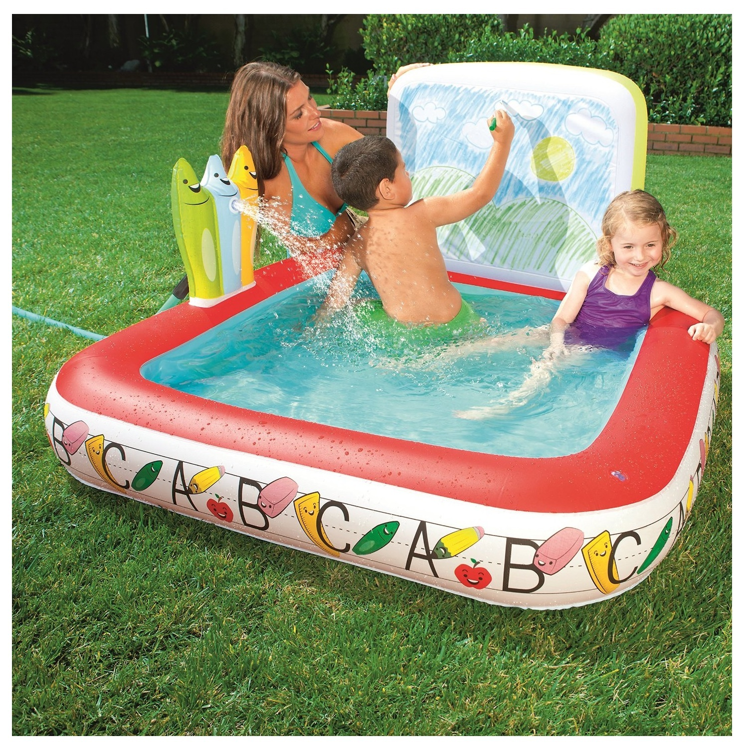 Best 90 pools for kids design ideas of 15 best portable swimming pools for kids house design How to draw swimming pool water