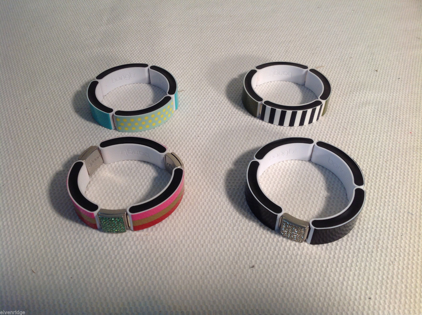 Set of 4 Bangl interchangeable magnetic bracelets