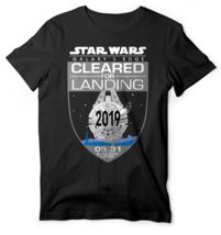 New Star Wars Galaxy's Edge Cleared For Landing Disneyland Disney Graphic Shirt - $14.84+