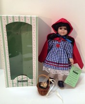 Seymour Mann Doll Storybook Tiny Tots Red Riding Hood Limited Edition - $18.80
