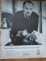 Clairol Shampoo World Famous Hairdresser John Garrison Print Magazine Ad 1967 - $5.99