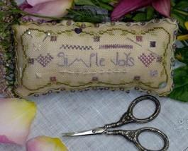 Simple Joys Pincushion kit cross stitch Shepherd's Bush - $20.00