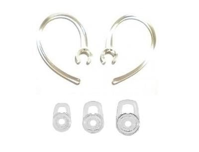 2 Ear Loop Hooks 3 SML Gel buds For Plantronics Discovery 925 975
