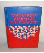 Magruder's American Government Text Book School Home 1975 Student - $18.94