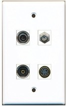 RiteAV  1 Port Coax Cable TV- F-Type 1 Port S-Video 1 Port Toslink 1 Port 3.... - $20.88