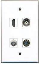 RiteAV  1 Port HDMI 1 Port Coax Cable TV- F-Type 1 Port S-Video 1 Port BNC W... - $20.88