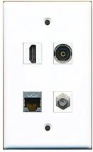RiteAV  1 Port HDMI 1 Port Coax Cable TV- F-Type 1 Port Shielded Cat6 Ethern... - $20.88