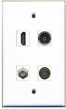RiteAV  1 Port HDMI 1 Port Coax Cable TV- F-Type 1 Port S-Video 1 Port Tosli... - $20.88