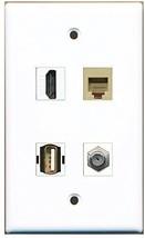 RiteAV  1 Port HDMI 1 Port Coax Cable TV- F-Type 1 Port USB A-A 1 Port Phone... - $20.88