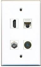 RiteAV  1 Port HDMI 1 Port Coax Cable TV- F-Type 1 Port S-Video 1 Port Cat5e... - $20.67