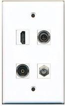 RiteAV  1 Port HDMI 1 Port Coax Cable TV- F-Type 1 Port Toslink 1 Port 3.5mm... - $20.88