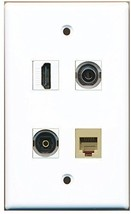 RiteAV  1 Port HDMI 1 Port Phone RJ11 RJ12 Beige 1 Port Toslink 1 Port 3... - $20.88